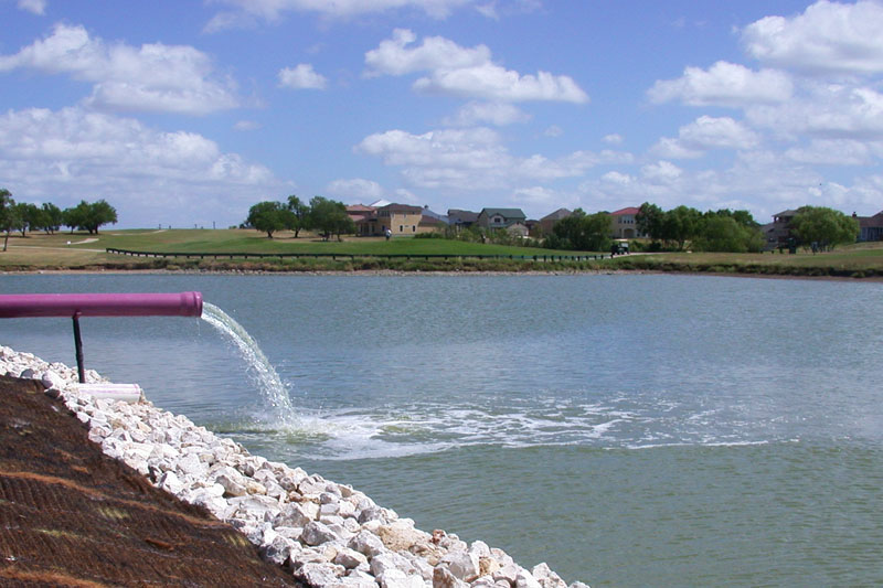 Using recycled edwards water for Pond supplies near me