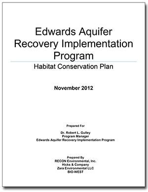 Laws and Regulations Applicable to the Edwards Aquifer